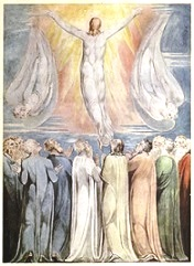 William Blake, De hemelvaart (c. 1805/06)